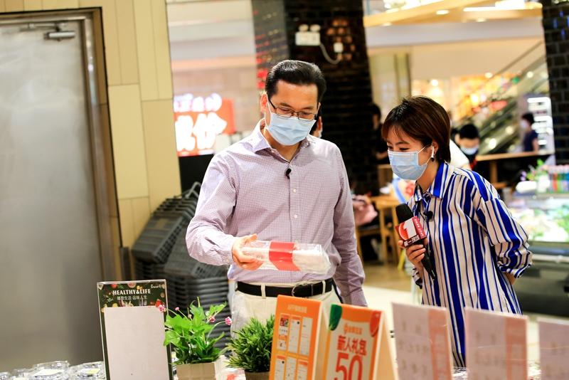 买完水果再去饮果茶 这里有福田区自然风健康消费专区