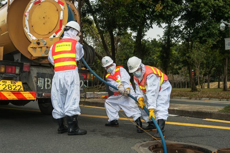 提水质、断潜在传染源 福田区水务局保障市民正常供排水需求
